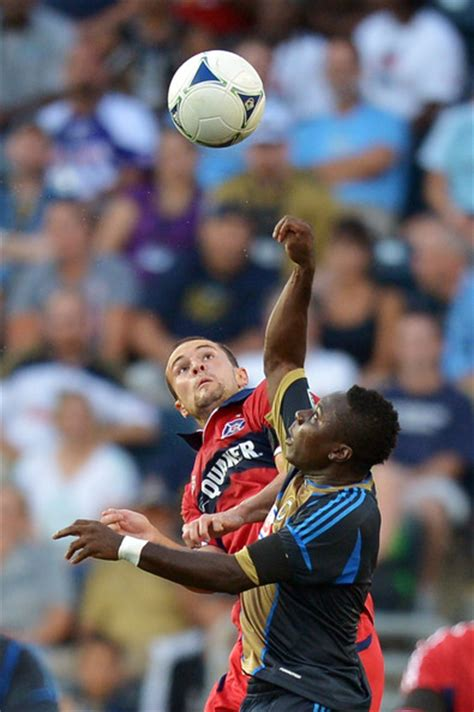austin adu freddy adu and austin berry photos photos chicago fire v