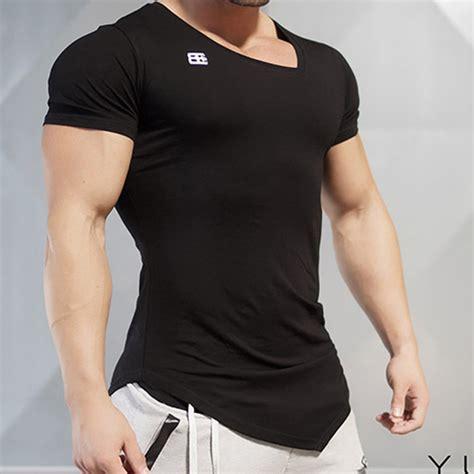 milk neck design מוצר new design male novelty men t shirt fashion the
