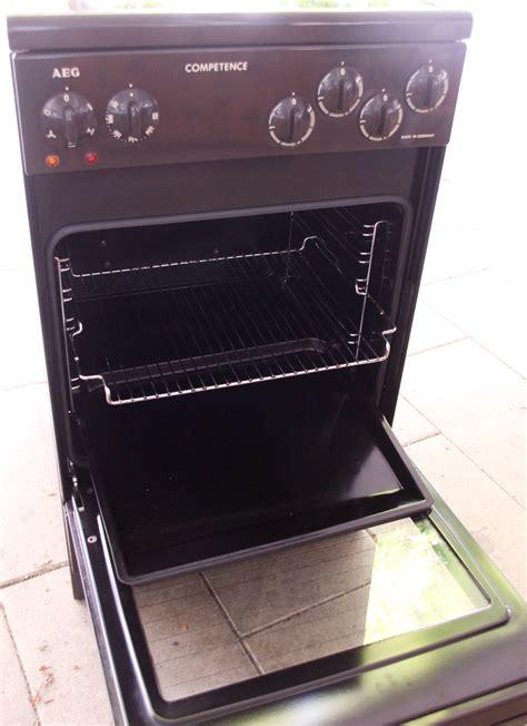 Aeg Ceranfeld Bedienungsanleitung aeg competence 4001 v elektro herd ceran grill ofen braun