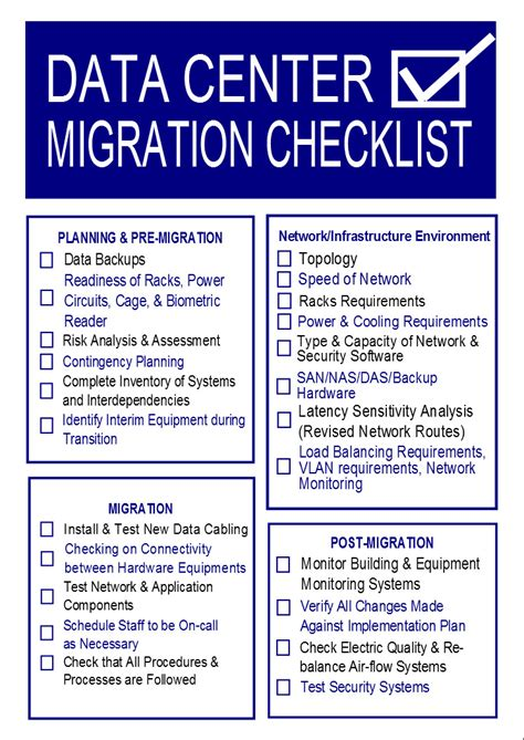 Data Center Migration Checklist Template Templates Resume Exles Xvamvqpylx Content Migration Plan Template