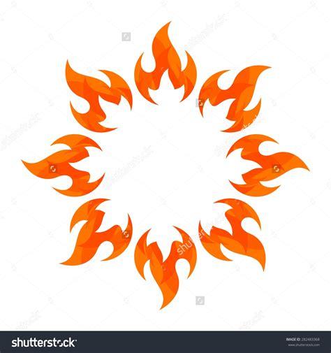 fire flame fire logo vector template fireball logotype