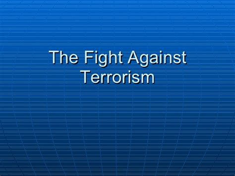 the of the one s fight against an unjust system books 8 1 the fight against terrorism