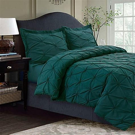 bed bath and beyond tribeca buy tribeca living sydney pintuck king duvet cover set in