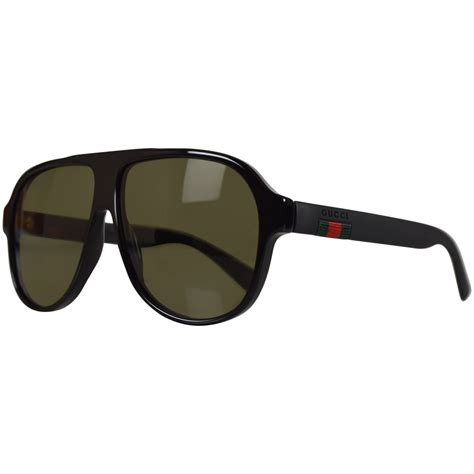 gucci shades for gucci sunglasses gucci black aviator sunglasses from brother2brother uk
