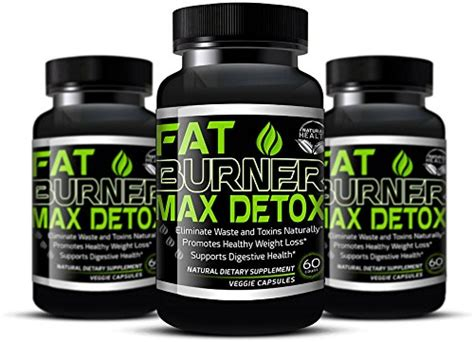 Vitamin World Detox Pills by Weight Loss Pills 30 Day Detox Cleanse Burn Belly