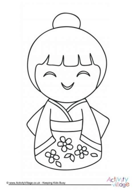 daruma doll coloring page daruma doll booklet