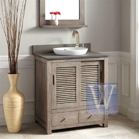 teak and oak bathroom furniture akita collection