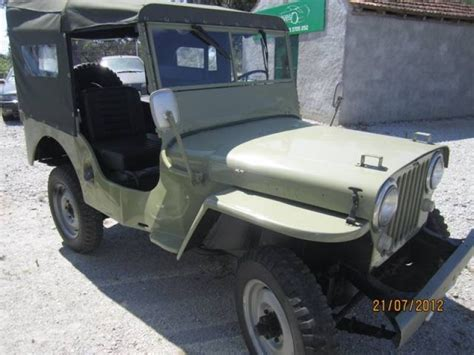 Jeep Cj3a 1949 Willys Jeep Cj3a For Sale Classic Car Ad From
