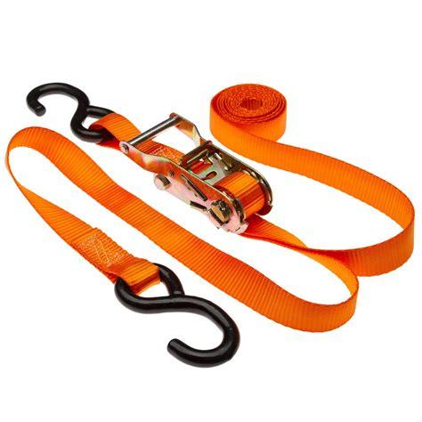 ratchet straps 1 quot x 10 ratchet straps with s hooks discount rs