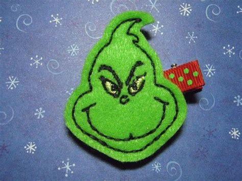 felt grinch pattern 52 best felt grinch images on pinterest christmas crafts