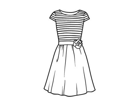 imagenes de vestidos faciles para dibujar coloriages d objets v 234 tements page 2