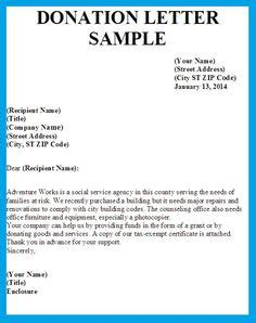 sample church donation letter sample donation request