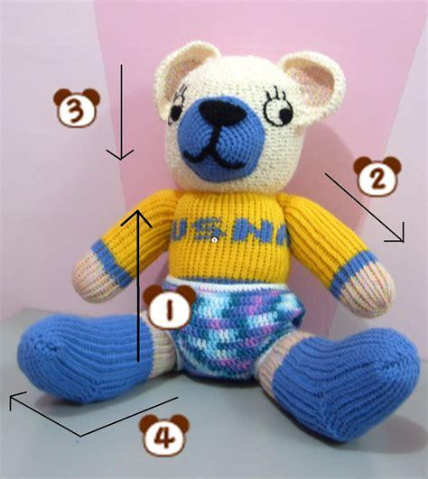 Anak Panah Fiber Biru 7mmx80cm crochet is free pattern loom knit teddy bahasa