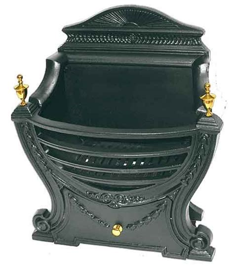 Cast Iron Basket Fireplace Grate by Cast Iron Grate Basket Cast Iron