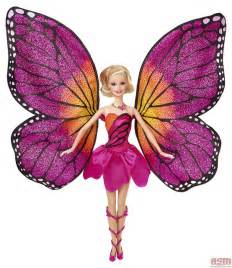 mariposa transforming doll wings opened barbie mariposa fairy princess