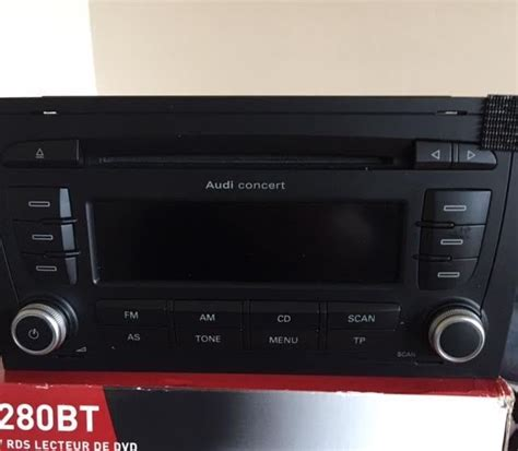 audi concert stereo audi a3 concert stereo cd player for sale in glasthule