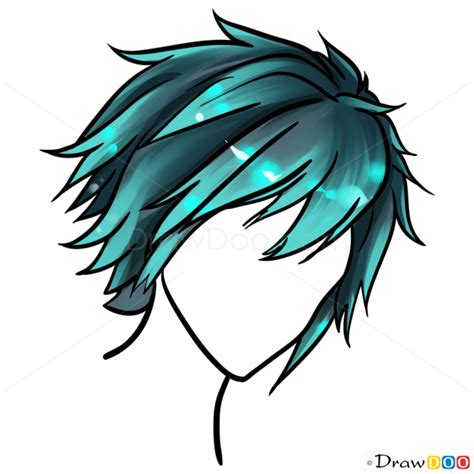 Hairstyle Book For Beginners by How To Draw Anime Hair Lesson Step By Step Drawing