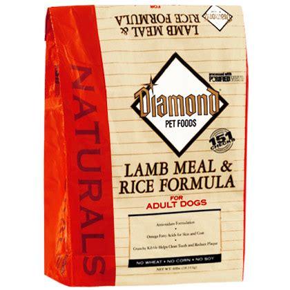diamond naturals large breed adult lamb meal rice diamond naturals lamb meal rice adult dry dog food