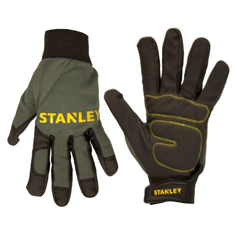 comfort grip gloves stanley men s extra large padded comfort grip gloves