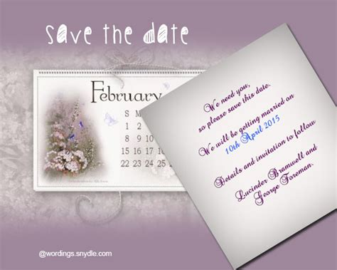 save the date cards wording template save the date wording sles wordings and messages