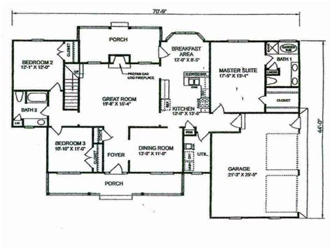 Small 4 Bedroom Floor Plans by Bedroom Bathroom House Floor Plans Need To Know When