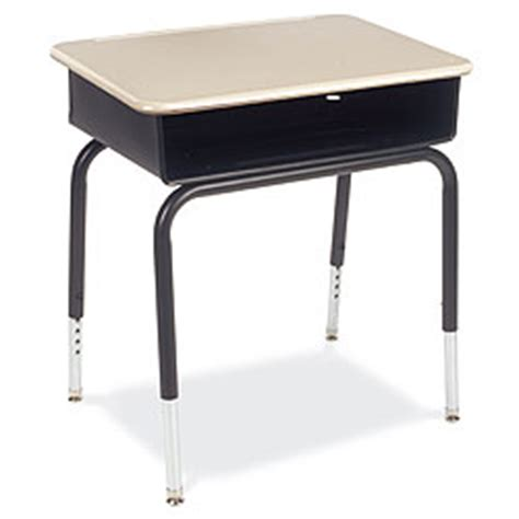 Open Front Student Desk Martest Top Metal Book Box Vir Open Front Student Desk