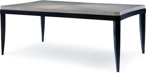 Black Rectangle Dining Table Symphony Platinum Black Tie Extendable Rectangular Dining Table From Legacy Classic 5640 221