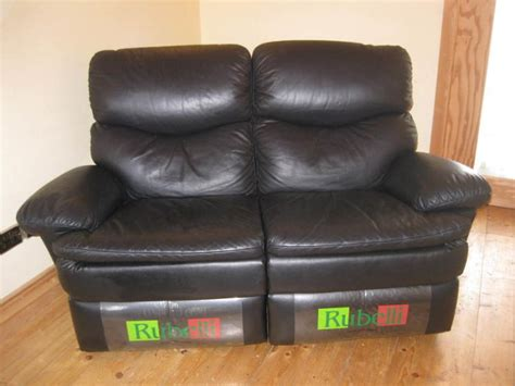 rubelli couch rubelli 2 seater leather recliner sofa for sale in