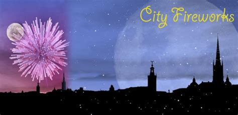 celebrate july   city fireworks  wallpaper