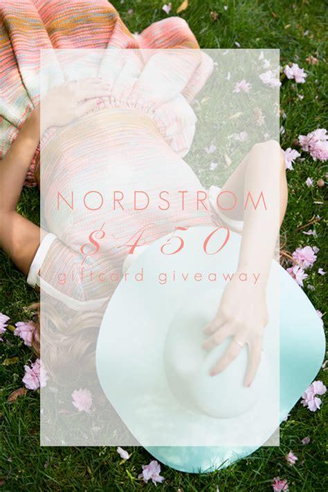 E Gift Card Nordstrom - nordstrom giveaway color by k