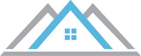blue house logo royalty free stock images image: 30254499