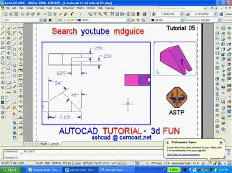 online tutorial of autocad tutorial 05 autocad 2d 3d online tutoring is available