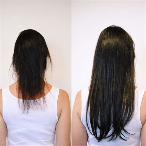 short hairstyles with hair extensions pictures before and after hair extension before after neroli aveda lifestyle