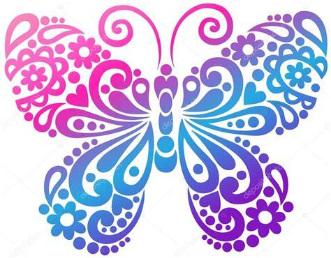 imagenes navideñas vectores elemento de dise 241 o en vectores swirly mariposa vector de