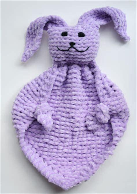 bunny blanket buddy knit pattern oiyi s crafts bunny blanket buddies