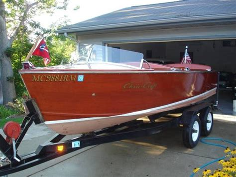 chris craft boat trailers 1952 chris craft special sportsman powerboat for sale in
