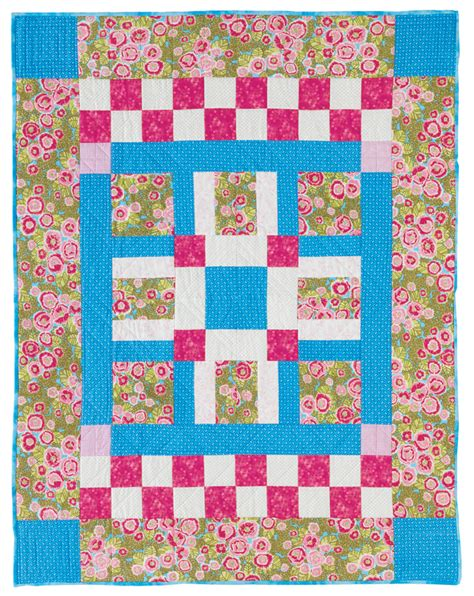 Simple Patchwork Quilt Patterns - basic fast and easy patchwork patterns for beginners
