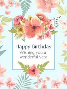 pink birthday flower card birthday greeting cards by davia