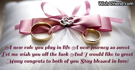 Wedding Wishes New Journey by Wedding Congratulations
