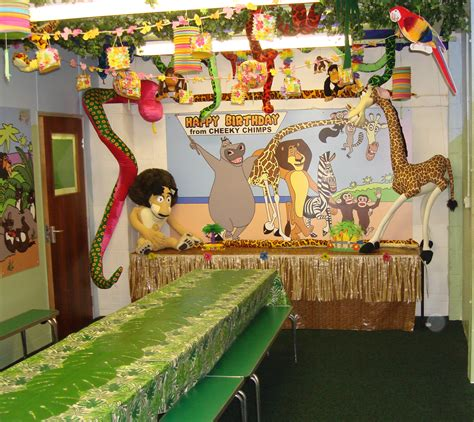 Jungle Home Decor by Packages Cheeky Chimps Indoor Adventure Activity Play