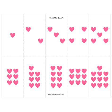 Math Dot Card Templates by Tweet Hearts Review And Giveaway Doodles And Jots