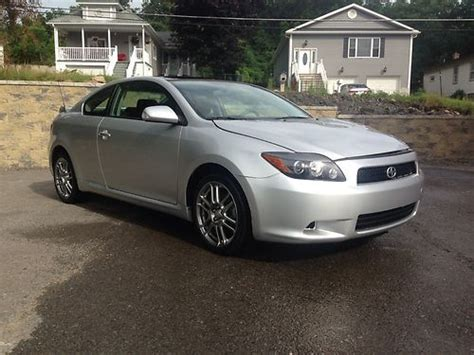 2010 Toyota Scion Purchase Used 2010 Toyota Scion Tc Silver 5 Speed Pa