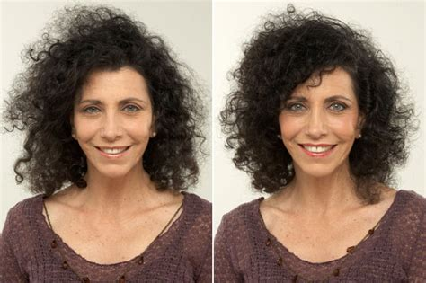 before and after hair styles of faces before and after hair styles for curly hair
