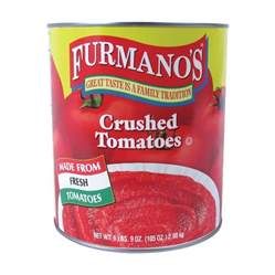 furmano s crushed tomatoes 10 can