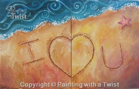 paint with a twist lubbock letters in the sand date painting idea use