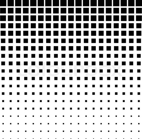 dot pattern multiple square shapes black abstract halftone square dot background vector
