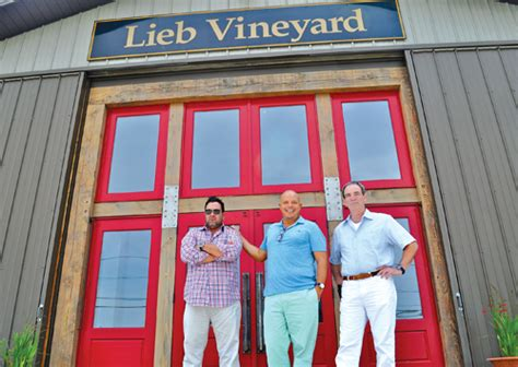 lieb cellars tasting room lieb cellers on the grow in cutchogue riverhead news review