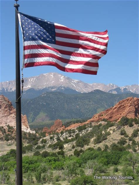 from mountain tops to the blue sky, colorado springs is