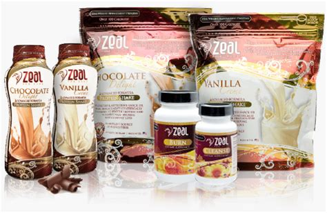 weight management zeal products