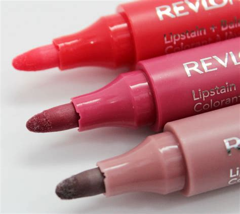 Lipstik Revlon Just Bitten revlon just bitten lipstain balm swatches photos review